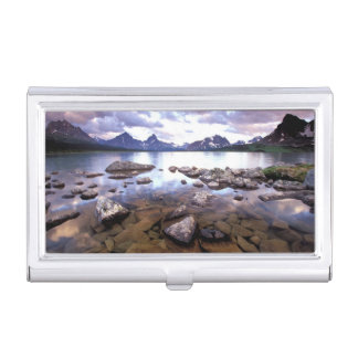 North America, Canada, Alberta, Jasper National Business Card Holder