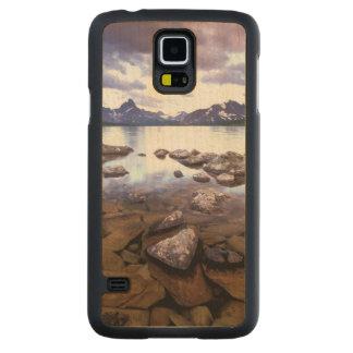 North America, Canada, Alberta, Jasper National Carved Maple Galaxy S5 Case