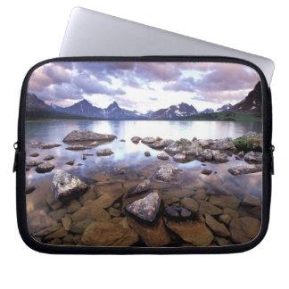 North America, Canada, Alberta, Jasper National Laptop Sleeve