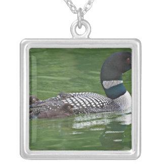 North America, Canada, British Columbia, Lac 2 Square Pendant Necklace
