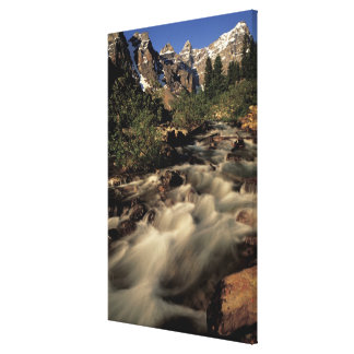 North America, Canada, Canadian Rockies, Banff Stretched Canvas Print