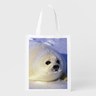 North America, Canada, Gulf of St. Lawrence. 4 Reusable Grocery Bag
