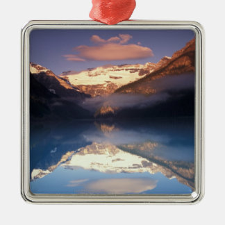North America, Canada, Lake Louise morning Christmas Ornament
