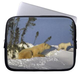 North America, Canada, Manitoba, Churchill. 5 Laptop Sleeve