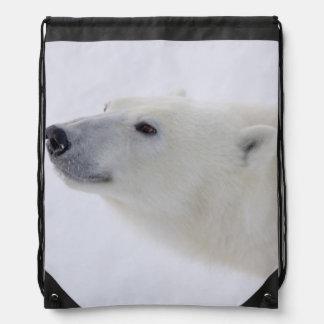 North America, Canada, Manitoba, Churchill. 6 Drawstring Bag