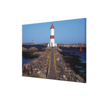 North America, Canada, Miquelon and St. Pierre, Canvas Print