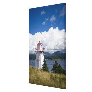 North America Canada Newfoundland and Canvas Print