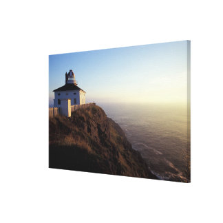 North America, Canada, Newfoundland, Cape Spear, 2 Canvas Print