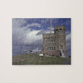 North America, Canada, Newfoundland, St. John's. Jigsaw Puzzle