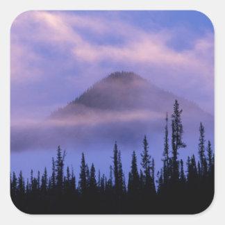 North America, Canada, Northwest Territories, Square Sticker