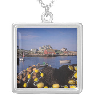 North America, Canada, Nova Scotia, Peggy's Silver Plated Necklace