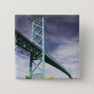 North America, CANADA, Ontario, Windsor: The 15 Cm Square Badge