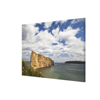 North America, Canada, Quebec, Gaspe Bay, Perce Canvas Print