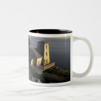 North America, Canada, Quebec, Gaspe Peninsula 2 Two-Tone Coffee Mug