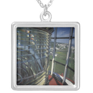 North America, Canada, Quebec, Gaspe Peninsula Silver Plated Necklace
