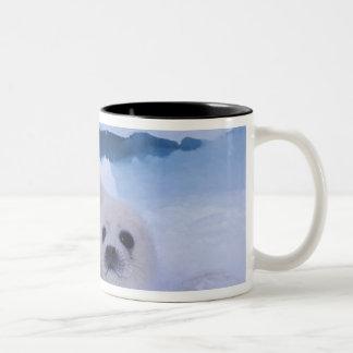 North America, Canada, Quebec, Iles de la 2 Two-Tone Coffee Mug