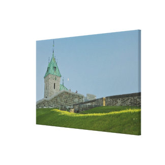 North America, Canada, Quebec, Old Quebec City. 2 Canvas Print