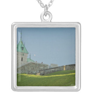 North America, Canada, Quebec, Old Quebec City. 2 Silver Plated Necklace