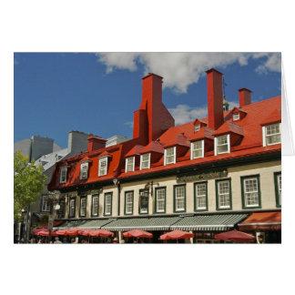 North America, Canada, Quebec, Old Quebec City. 3 Card