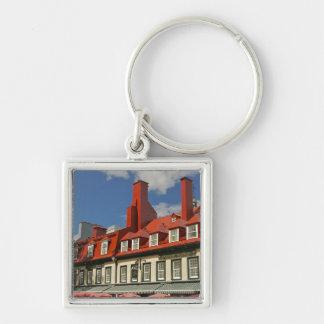 North America, Canada, Quebec, Old Quebec City. 3 Key Ring