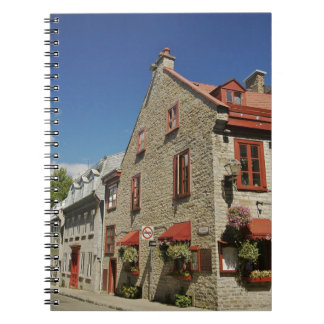 North America, Canada, Quebec, Old Quebec City. Notebook