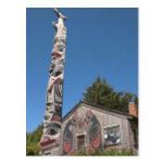 North America, Canada, Queen Charlotte Islands, 3 Postcard