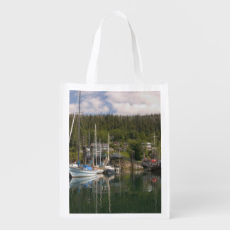 North America, Canada, Queen Charlotte Islands, 4 Reusable Grocery Bag