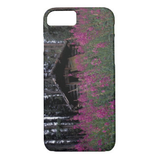 North America, Canada, Yukon. Abandoned trappers iPhone 7 Case