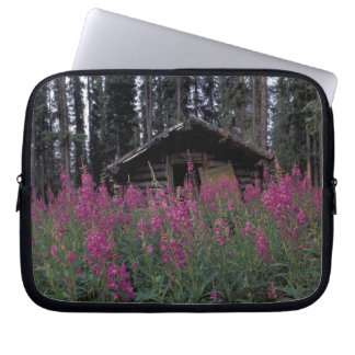 North America, Canada, Yukon. Abandoned trappers Laptop Sleeve