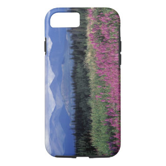 North America, Canada, Yukon. Fireweed blooms iPhone 8/7 Case
