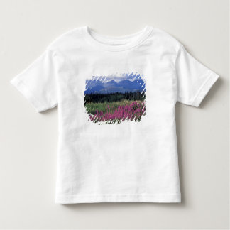 North America, Canada, Yukon. Fireweed blooms Toddler T-Shirt