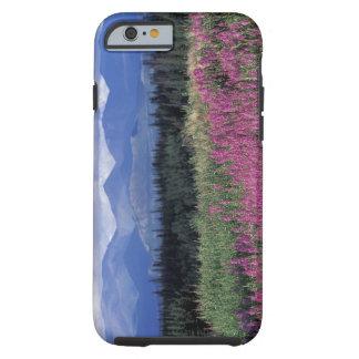 North America, Canada, Yukon. Fireweed blooms Tough iPhone 6 Case