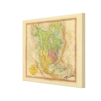 North America Canvas Print