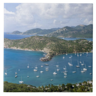 North America, Caribbean, Antigua. English Large Square Tile