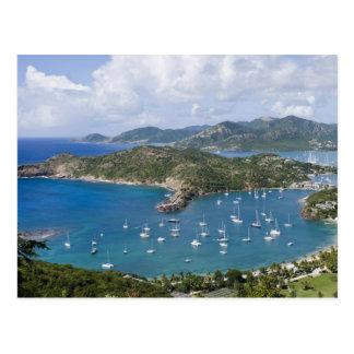 North America Caribbean Antigua English Postcards