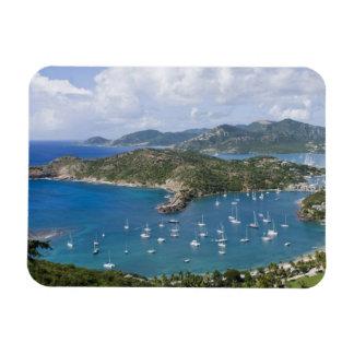 North America, Caribbean, Antigua. English Rectangular Photo Magnet