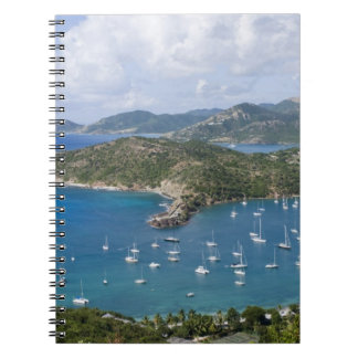 North America, Caribbean, Antigua. English Spiral Note Books
