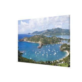 North America, Caribbean, Antigua. English Stretched Canvas Print