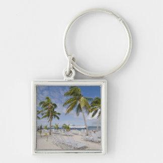 North America, Caribbean, Dominican Republic. 2 Key Ring