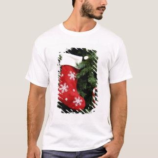 North America. Christmas decorations on tree. 3 T-Shirt