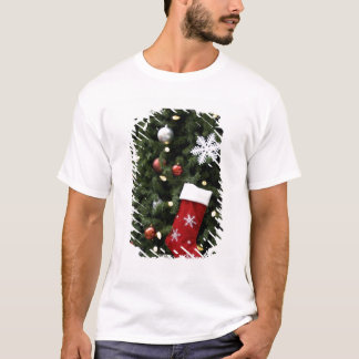 North America. Christmas decorations on tree. 5 T-Shirt