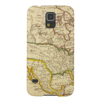 North America Engraved map Galaxy S5 Covers