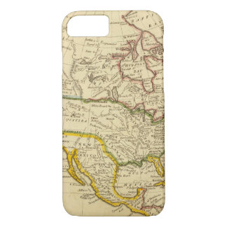 North America Engraved map iPhone 8/7 Case