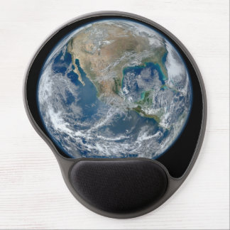 North America from low orbiting satellite Gel Mouse Pad