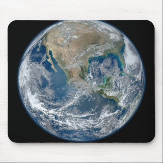 North America from low orbiting satellite Mouse Pads