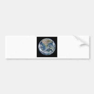 North_America_from_low_orbiting_satellite_Suomi_NP Bumper Sticker