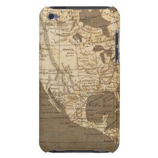 North America Map by Arrowsmith Barely There iPod Covers