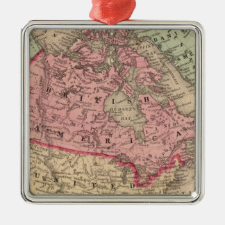 North America Map by Mitchell Christmas Ornament