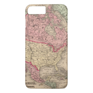 North America Map by Mitchell iPhone 8 Plus/7 Plus Case