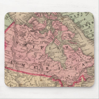 North America Map by Mitchell Mouse Mat
